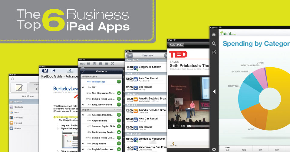 The Top 6 Business  iPad Apps